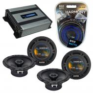 Compatible with Infiniti M45 2004-2005 Speaker Replacement Harmony (2) R65 & Harmony HA-A400....