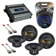 Compatible with Isuzu Oasis 1996-1999 Factory Speaker Replacement Harmony (2) R65 & Harmony H...