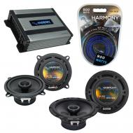 Compatible with Isuzu Trooper 1990-2002 OEM Speaker Replacement Harmony R65 R5 & Harmony HA-A...