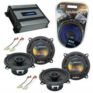 Compatible with Jeep Cherokee 1988-1996 OEM Speaker Replacement Harmony (2) R5 & Harmony HA-A...