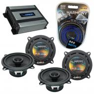 Compatible with Jeep CJ-7 1979-1988 Factory Speaker Replacement Harmony R5 & Harmony HA-A400....