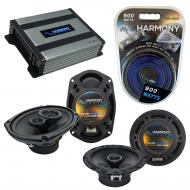 Compatible with Jeep Grand Cherokee 05-13 OEM Speaker Replacement Harmony R69 R65 & Harmony H...