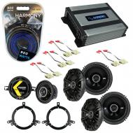 Compatible with Jeep Grand Cherokee 96-98 Speaker Replacement Kicker DS Series & Harmony HA-A...