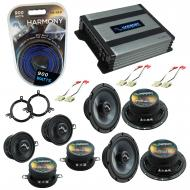 Compatible with Jeep Grand Cherokee 96-98 Speakers Replacement Harmony Replacement & Harmony ...