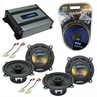 Compatible with Jeep Grand Wagoneer 86-92 OEM Speaker Replacement Harmony (2) R5 & Harmony HA...