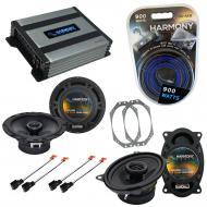 Compatible with Jeep Wrangler 1997-2006 OEM Speaker Replacement Harmony R46 R65 & Harmony HA-...
