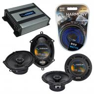Compatible with Kia Spectra 2000-2009 OEM Speaker Replacement Harmony R65 R68 & Harmony HA-A4...