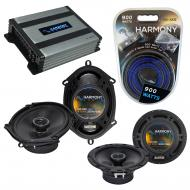 Compatible with Kia Spectra 5 2005-2008 Speaker Replacement Harmony R65 R68 & Harmony HA-A400...