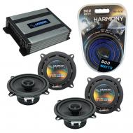 Compatible with Lexus GS 300/400/430 93-05 OEM Speaker Replacement Harmony (2) R5 & Harmony H...