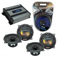 Compatible with Lexus IS 2006-2014 OEM Speaker Replacement Harmony (2) R5 & Harmony HA-A400.4...