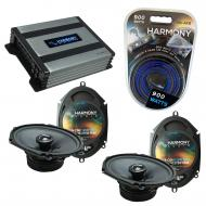 Compatible with Lincoln LS 2000-2006 Factory Speakers Replacement Harmony (2) C68 & Harmony H...