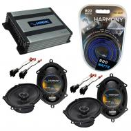Compatible with Lincoln Navigator 99-14 OEM Speaker Replacement Harmony (2) R68 & Harmony HA-...