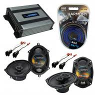 Compatible with Lincoln Town Car 03-11 OEM Speaker Replacement Harmony R68 R69 & Harmony HA-A...