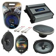 Compatible with Lincoln Town Car 90-02 OEM Speakers Replacement Harmony C68 C69 & Harmony HA-...