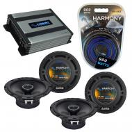 Compatible with Mazda Mazda6 2003-2013 OEM Speaker Replacement Harmony (2) R65 & Harmony HA-A...
