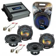 Compatible with Mazda RX7 1986-1989 OEM Speaker Replacement Harmony (2) R5 & Harmony HA-A400....