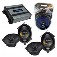 Compatible with Mazda RX8 2004-2008 Factory Speaker Replacement Harmony (2) R68 & Harmony HA-...