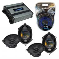 Compatible with Lincoln LS 2000-2006 Factory Speaker Replacement Harmony (2) R68 & Harmony HA...