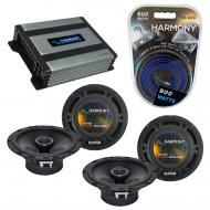 Compatible with Mercedes SL-Class 97-03 OEM Speaker Replacement Harmony (2) R65 & Harmony HA-...