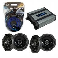 Compatible with Mercedes SL-Class 97-03 Speaker Replacement Kicker (2) DSC65 & Harmony HA-A40...