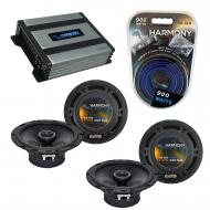 Compatible with Mercedes SLK-Class 05-11 OEM Speaker Replacement Harmony (2) R65 & Harmony HA...