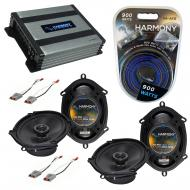 Compatible with Mercury Cougar 1989-1997 OEM Speaker Replacement Harmony (2) R68 & Harmony HA...