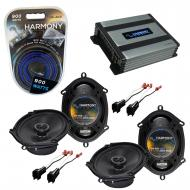 Compatible with Mercury Sable 2008-2009 OEM Speaker Replacement Harmony (2) R68 & Harmony HA-...