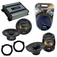 Compatible with Mini Cooper (convertible) 07-08 OEM Speaker Replacement Harmony Speakers & Ha...