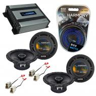 Compatible with Nissan 300ZX 1984-1989 Speaker Replacement Harmony (2) R65 & Harmony HA-A400....