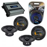 Compatible with Nissan 300ZX 1990-1996 Speaker Replacement Harmony (2) R65 & Harmony HA-A400....