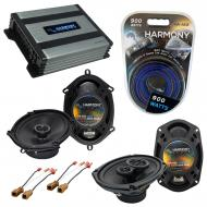 Compatible with Nissan Altima 1993-1997 OEM Speaker Replacement Harmony R68 R69 & Harmony HA-...