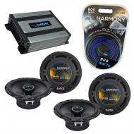 Compatible with Nissan Maxima 2000-2008 Factory Speaker Replacement Harmony (2) R65 & Harmony...