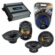 Compatible with Nissan Murano 2003-2007 OEM Speaker Replacement Harmony R65 R69 & Harmony HA-...
