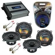 Compatible with Nissan Stanza 1982-1986 Factory Speaker Replacement Harmony (2) R5 & Harmony ...