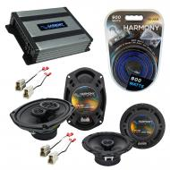 Compatible with Nissan Stanza 1987-1989 OEM Speaker Replacement Harmony R65 R69 & Harmony HA-...