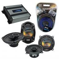 Compatible with Oldsmobile Aurora 1995-2000 OEM Speaker Replacement Harmony Speakers & Harmon...