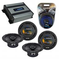 Compatible with Nissan Versa 2007-2013 Factory Speaker Replacement Harmony (2) R65 & Harmony ...