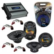 Compatible with Nissan Xterra 2000-2004 OEM Speaker Replacement Harmony R65 R69 & Harmony HA-...