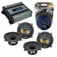 Compatible with Plymouth Acclaim 1989-1995 OEM Speaker Replacement Harmony Speakers & Harmony...