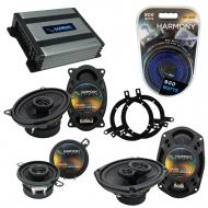Compatible with Plymouth Breeze 1996-1999 OEM Speaker Replacement Harmony R35 R69 & Harmony H...