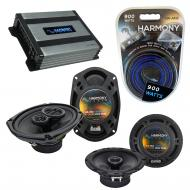 Compatible with Nissan Xterra 2005-2008 OEM Speaker Replacement Harmony R65 R69 & Harmony HA-...