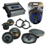 Compatible with Plymouth Breeze 1996-1999 Speakers Replacement Harmony C35 C69 & Harmony HA-A...