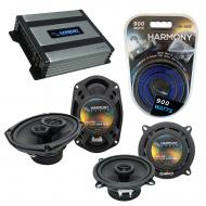Compatible with Plymouth Horizon 1984-1990 OEM Speaker Replacement Harmony R5 R69 & Harmony H...