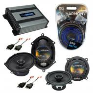Compatible with Plymouth Sundance 1987-1994 OEM Speaker Replacement Harmony R68 R5 & Harmony ...