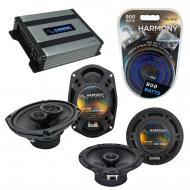 Compatible with Nissan Titan 2008-2012 OEM Speaker Replacement Harmony R65 R69 & Harmony HA-A...