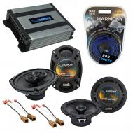 Compatible with Nissan Xterra 2009-2014 OEM Speaker Replacement Harmony R65 R69 & Harmony HA-...