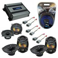 Compatible with Plymouth Voyager 1996-2000 OEM Speaker Replacement Harmony R5 R69 & Harmony H...