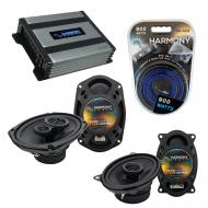 Compatible with Pontiac Bonneville 1994-1999 OEM Speaker Replacement Harmony Speakers & Harmo...