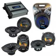 Compatible with Pontiac Bonneville 2000-2005 OEM Speaker Replacement Harmony Speakers & Harmo...