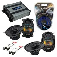 Compatible with Pontiac Grand AM 1992-1995 OEM Speaker Replacement Harmony R46 R69 & Harmony ...